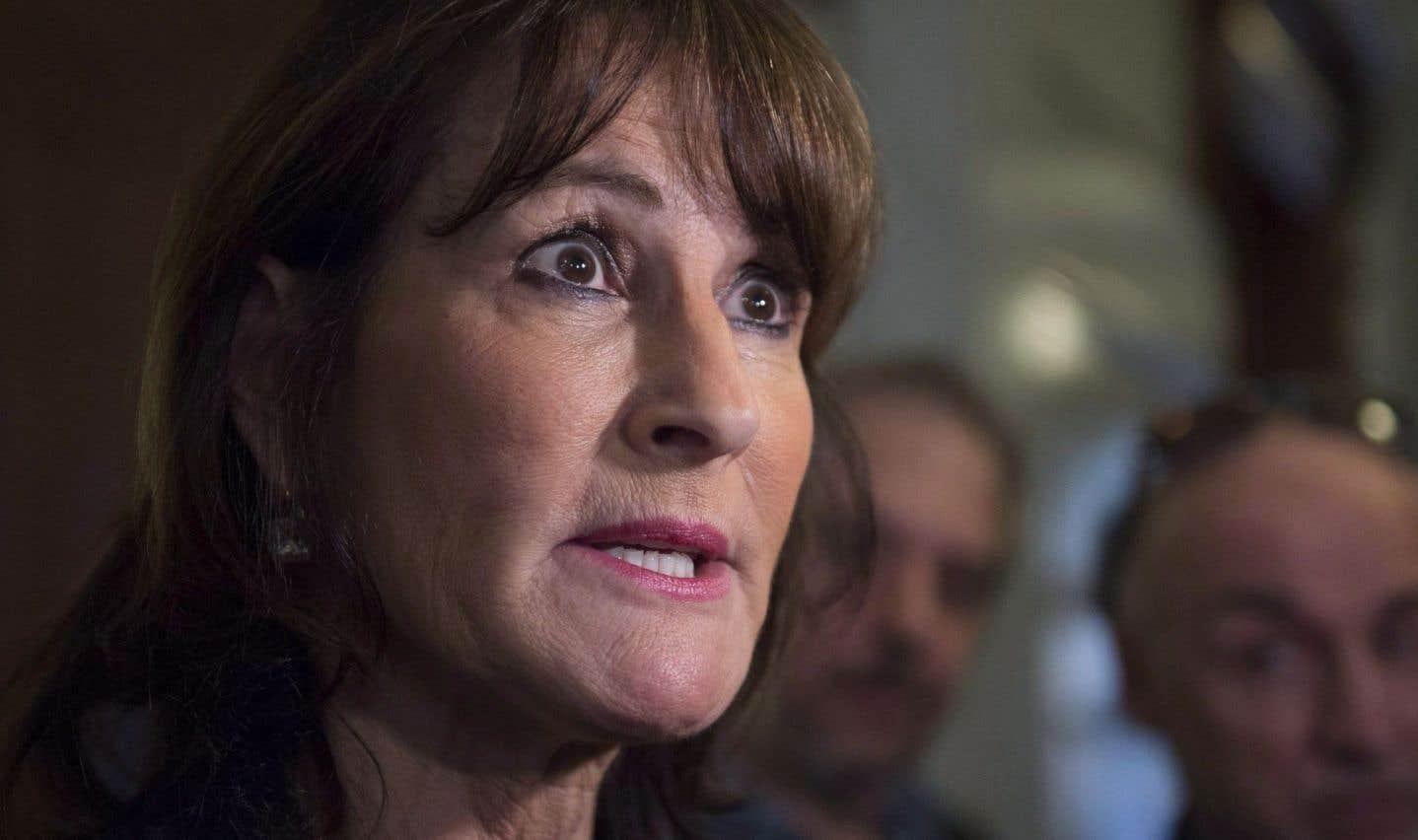 La ministre de l'Immigration, Kathleen Weil