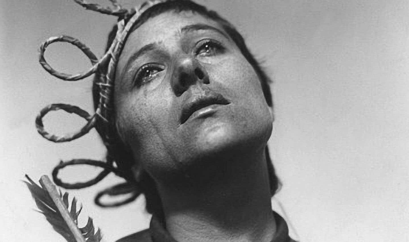 «Renée Maria Falconetti en Jeanne d'Arc