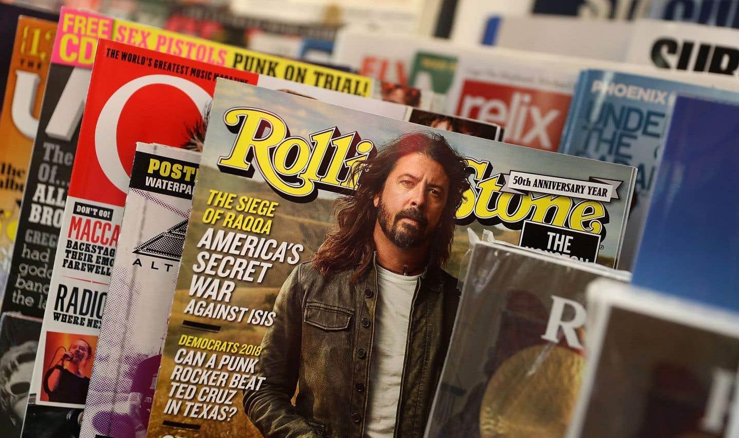 Un des titres les plus importants de l'histoire de la presse culturelle, Rolling Stone a également publié les textes d'auteurs expérimentaux, comme le journaliste gonzoHunter S. Thompson.