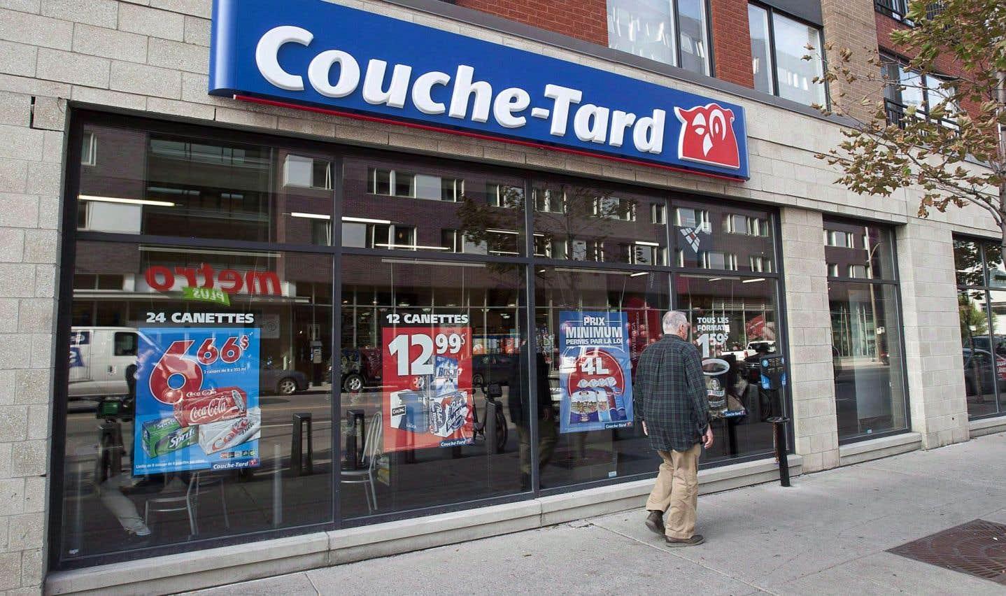 La vente de la marijuana ne passe pas par les sociétés d'État, dit Couche-Tard