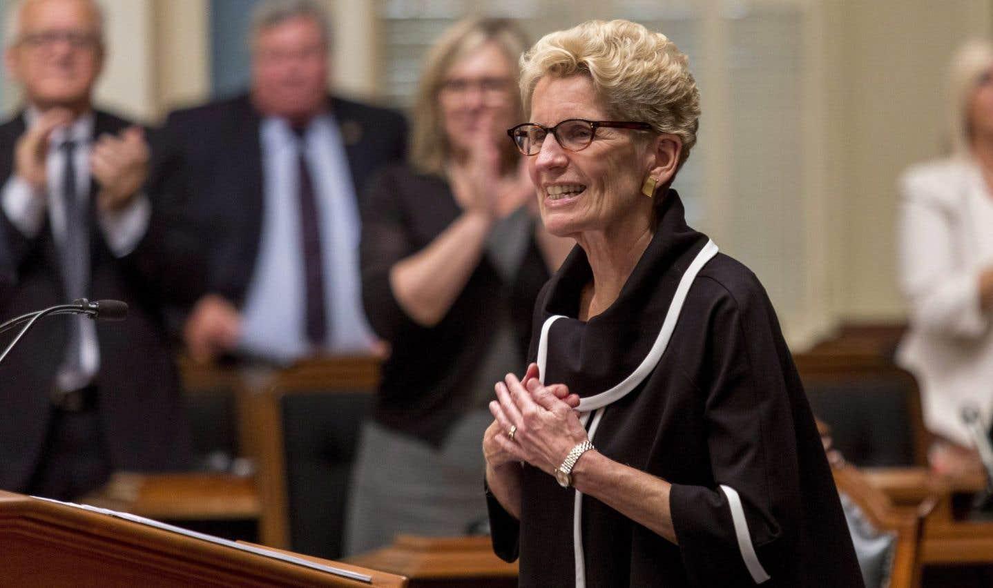 Kathleen Wynne tend la main au Québec
