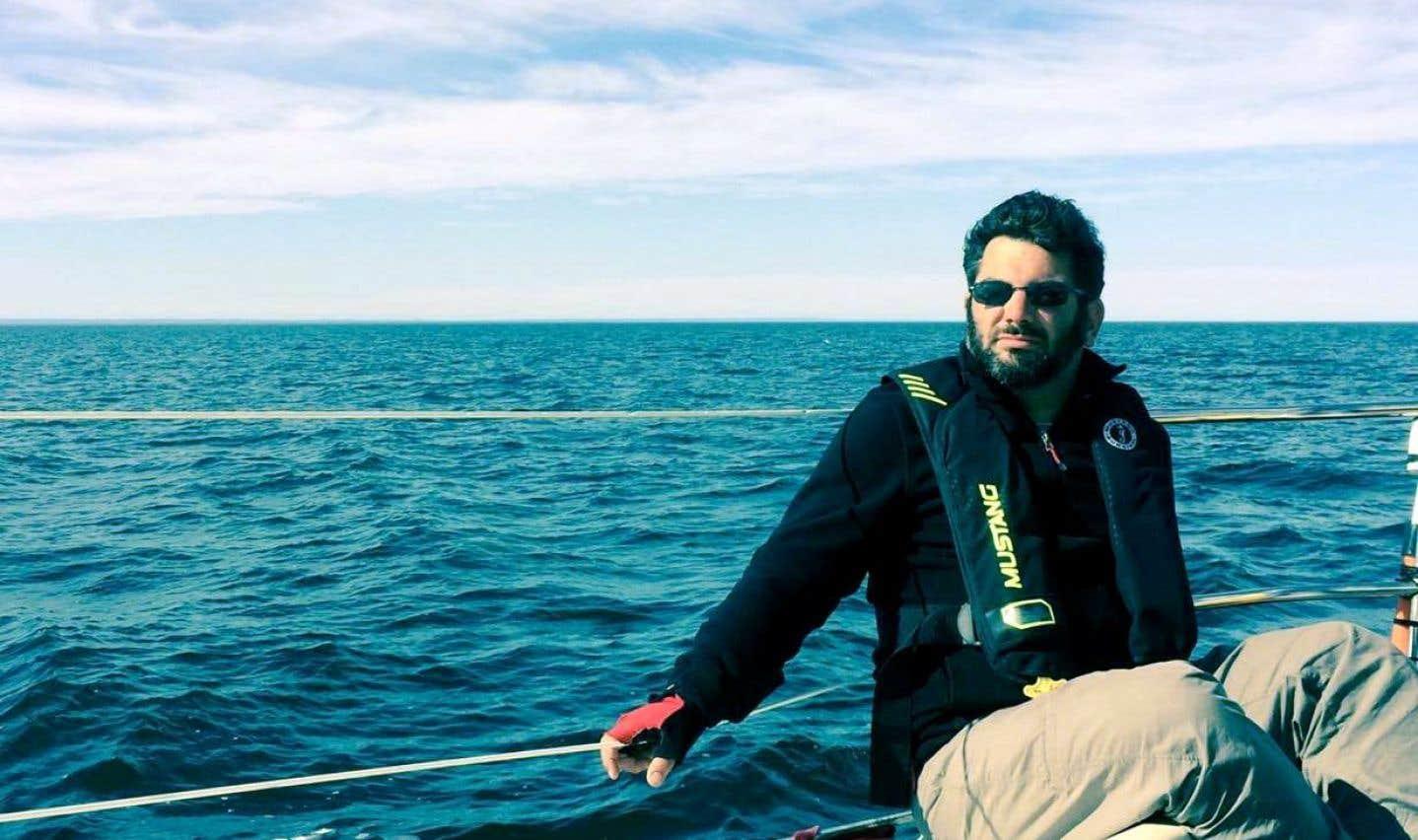 Le dramaturge Olivier Kemeid a puisé dans une rencontre faite lors d'un voyage en mer avec sa famille, à l'aube de l'adolescence.