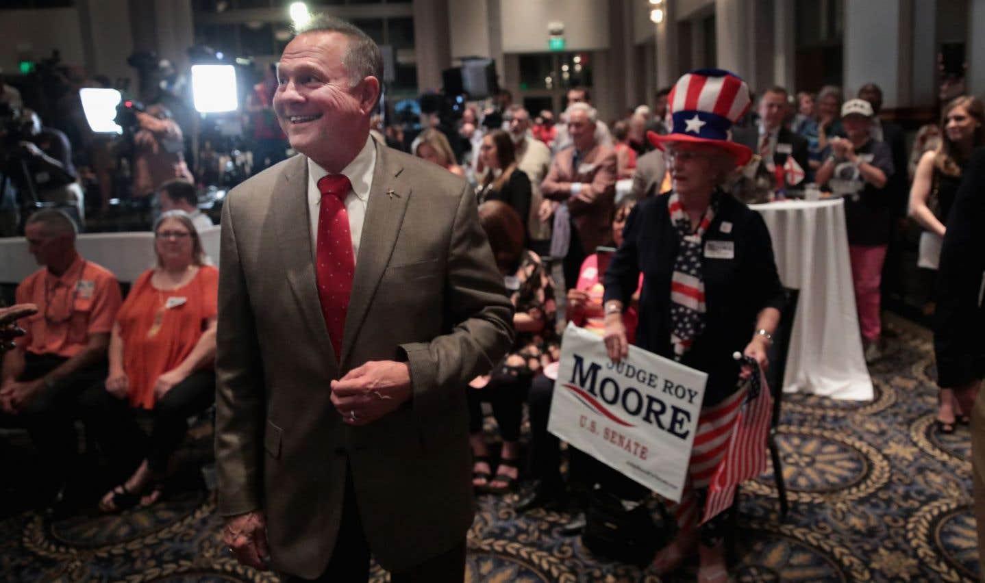Les républicains de l'Alabama rejettent le candidat de Donald Trump