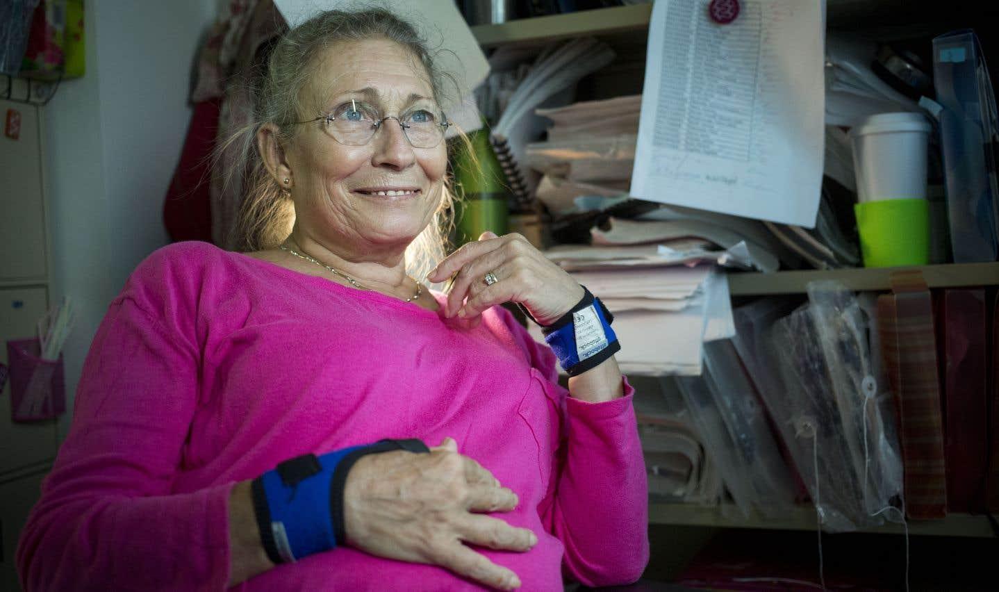 Atteinte d'arthrose sévère, Francine peut continuer à vivre grâce aux opioïdes