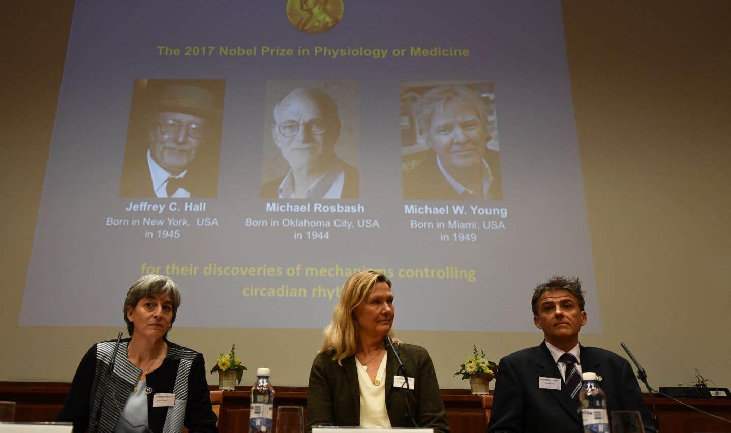 Le Nobel de médecine décerné à trois Américains spécialistes de l'horloge biologique