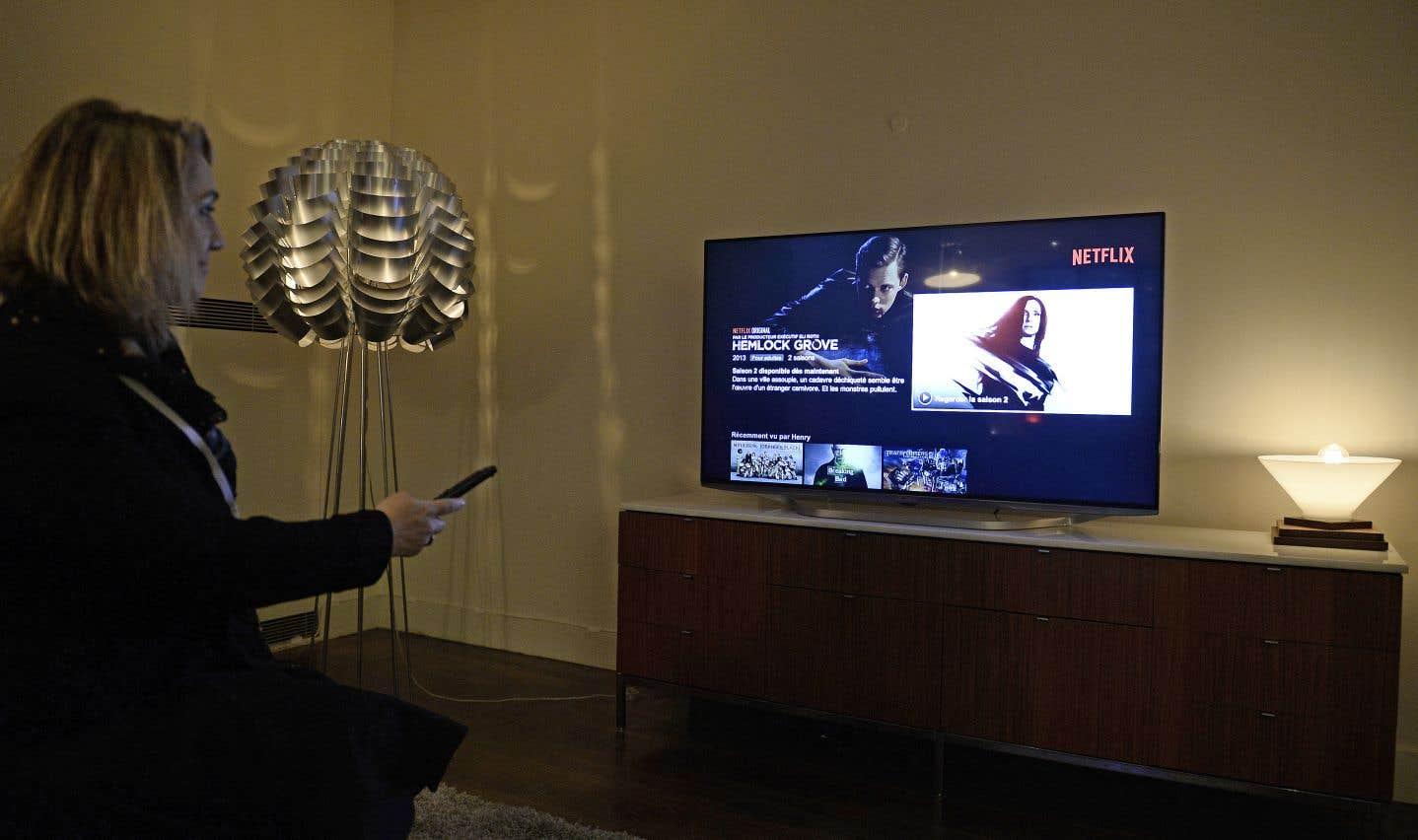 Un tiers des foyers québécois est abonné à Netflix, selon le CEFRIO