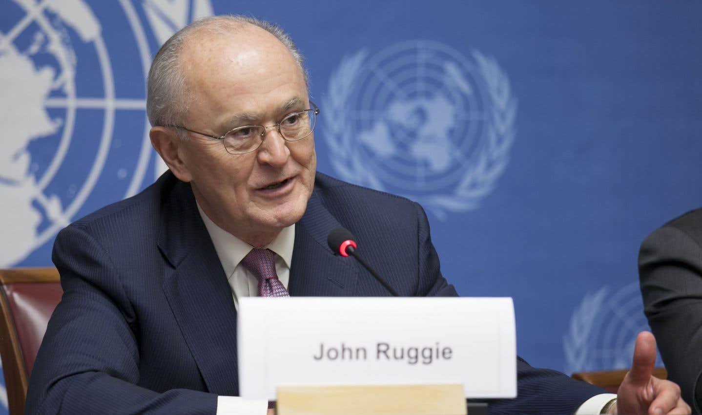 John Ruggie, professeur de droit international à l'université Harvard