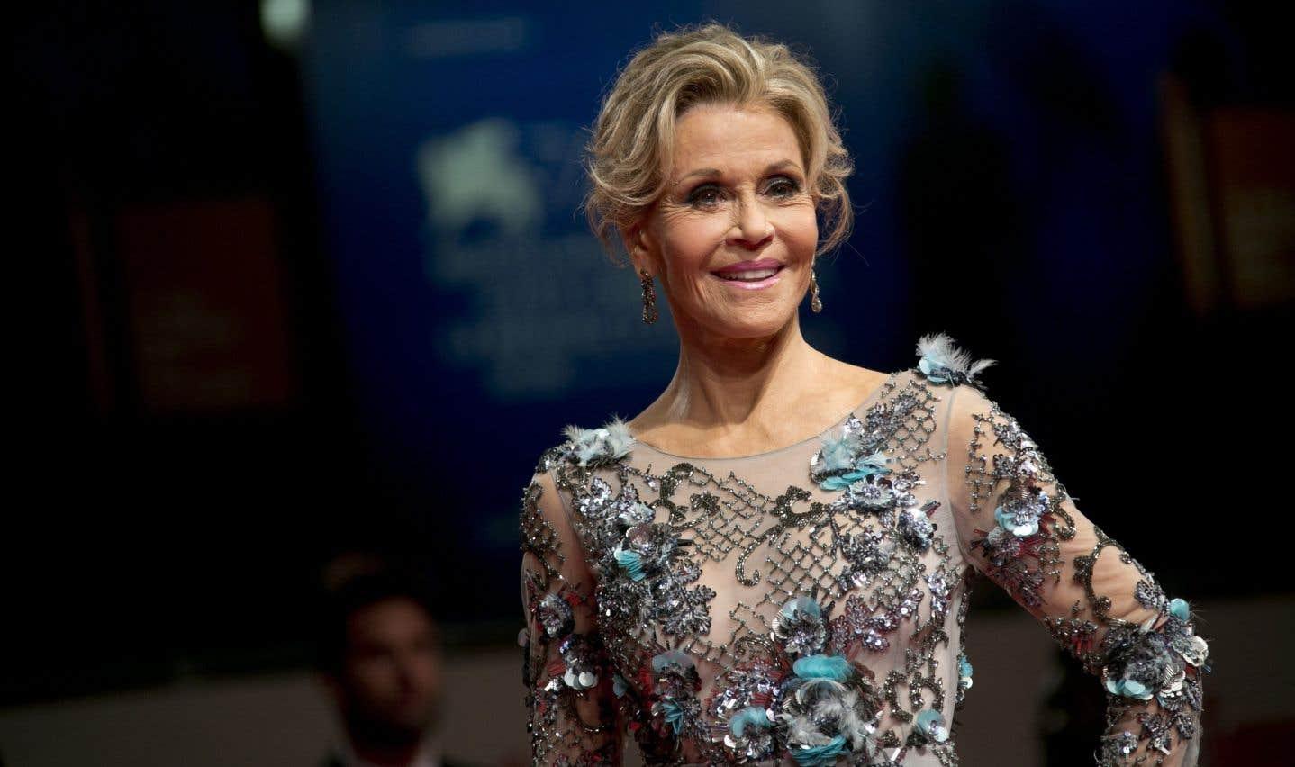 Affaire Weinstein: «Grâce à Dieu, on en parle!» dit Jane Fonda