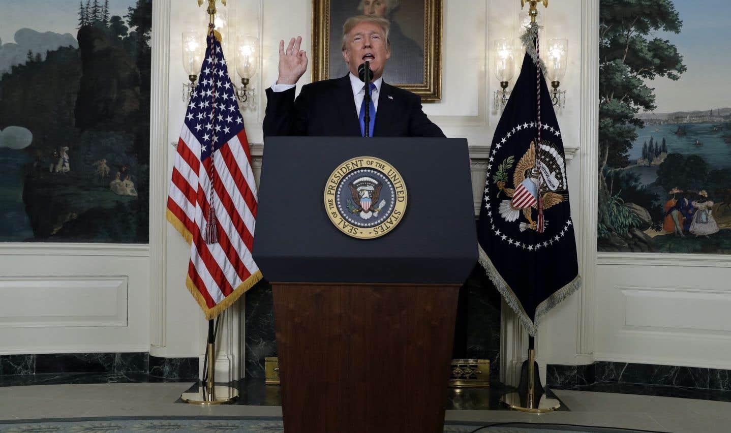 Trump ne reconduit pas l'accord sur le nucléaire iranien