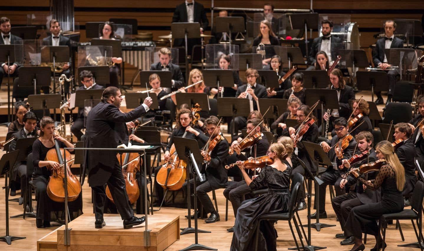 Lasuperbe interprétation de Jean-Marie Zeitouni et de l'orchestre du Conservatoire méritait une ovation debout.