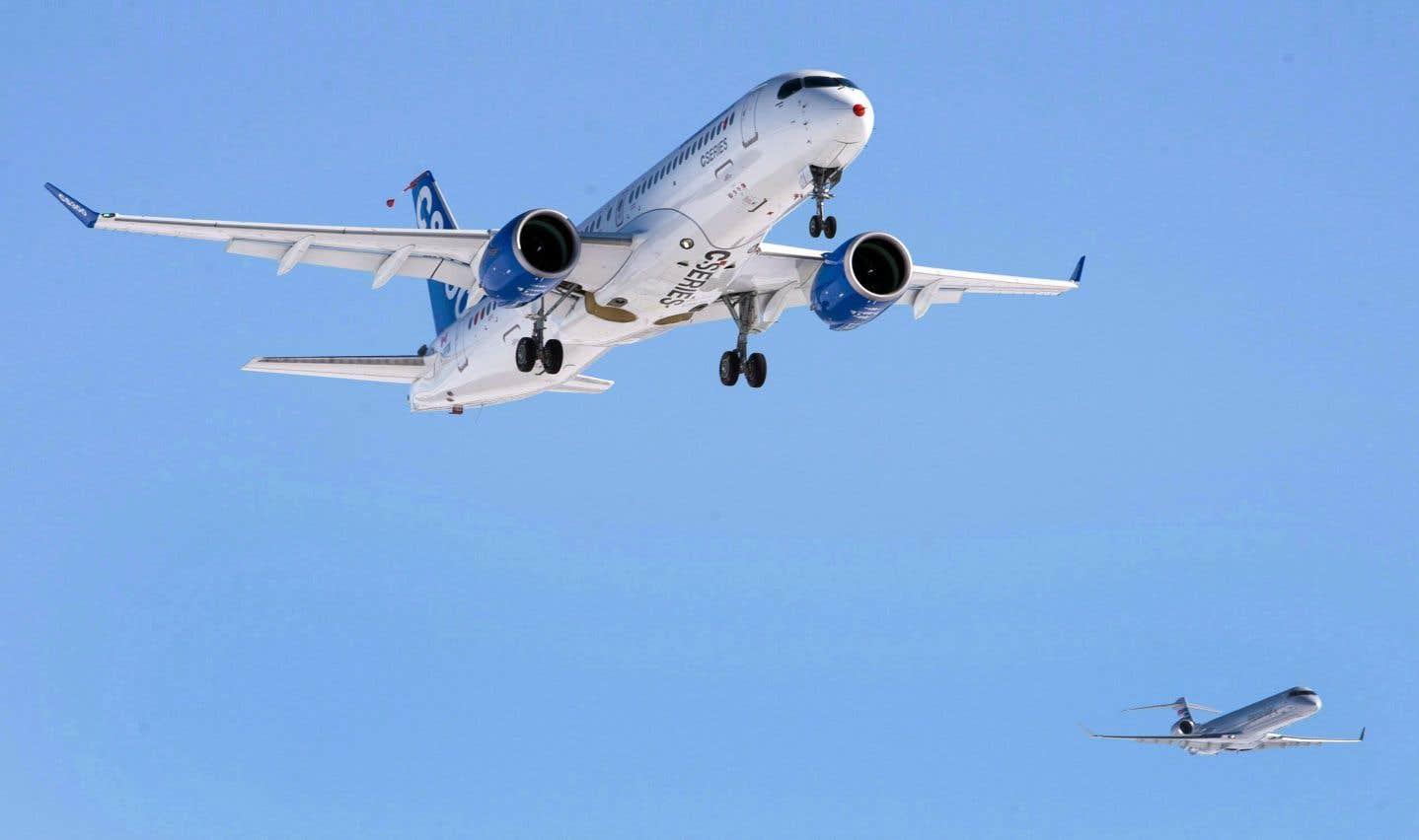 Airbus prend la CSeries sous son aile