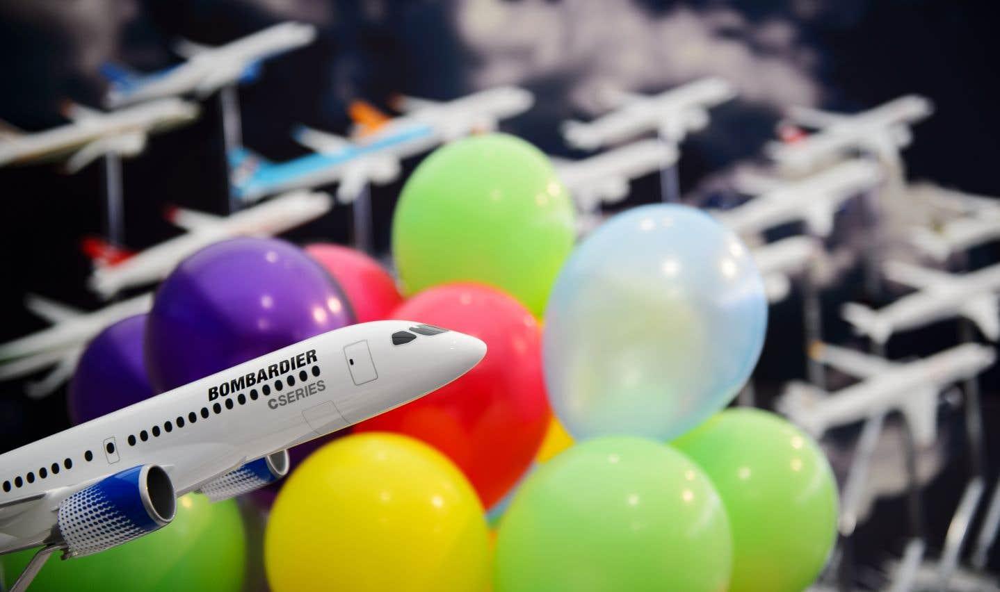 Bombardier et Airbus bondissent en Bourse après l'achat de la CSeries