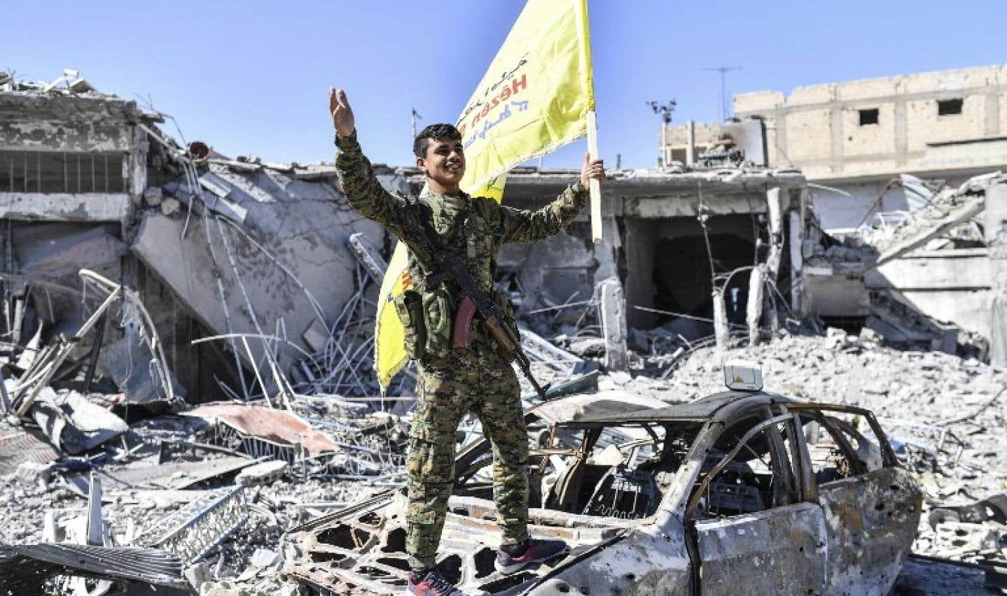 Une alliance antidjihadistes salue une «victoire historique» à Raqqa en Syrie