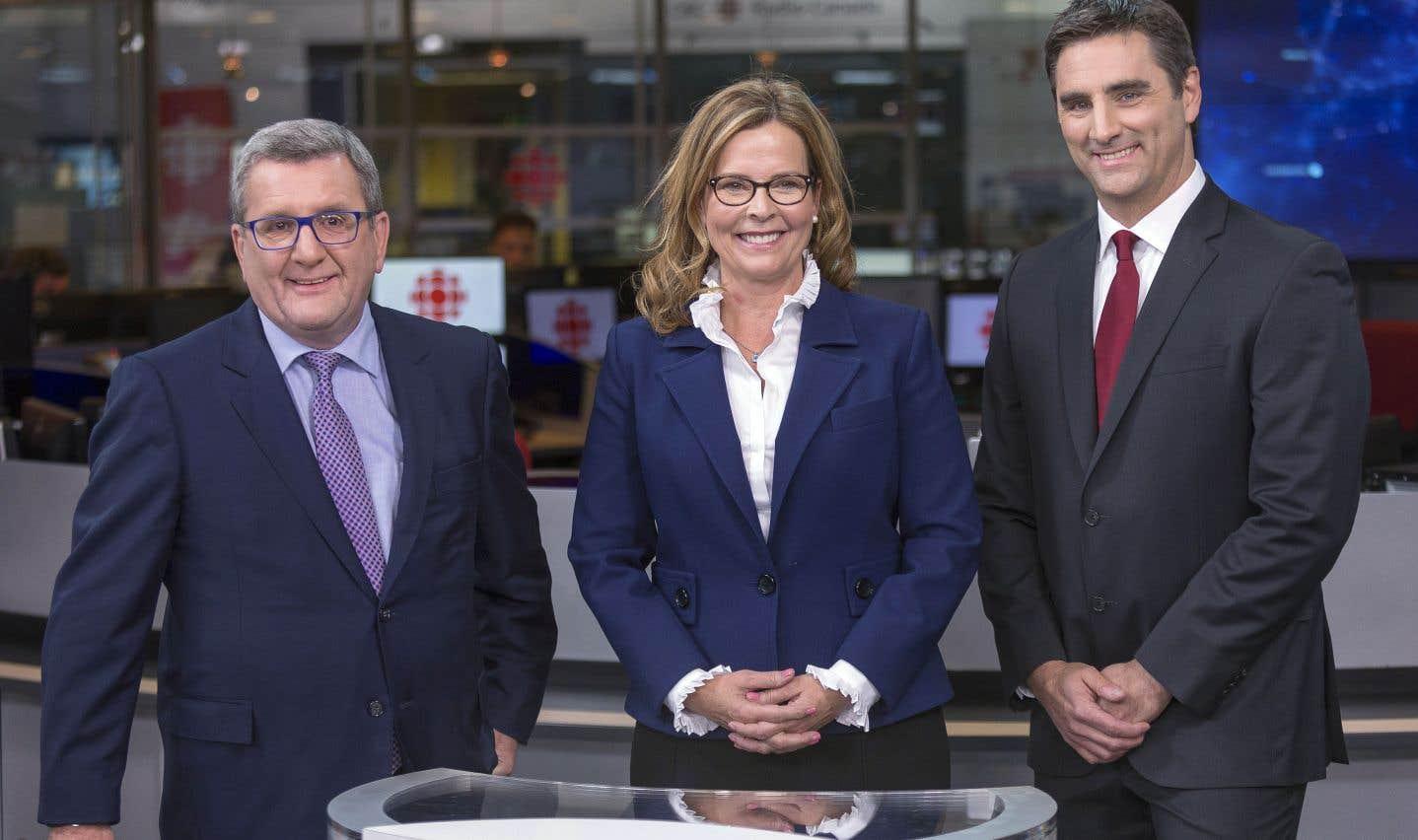 Régis Labeaume, Anne Guérette et Jean-François Gosselin ont croisé le fer, mardi soir à Québec, lors d'un débat organisé par les milieux d'affaires de la capitale nationale.