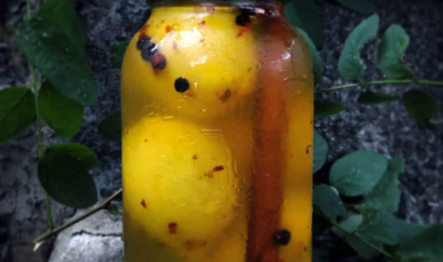 La recette de citrons confits de Michael Tozzi
