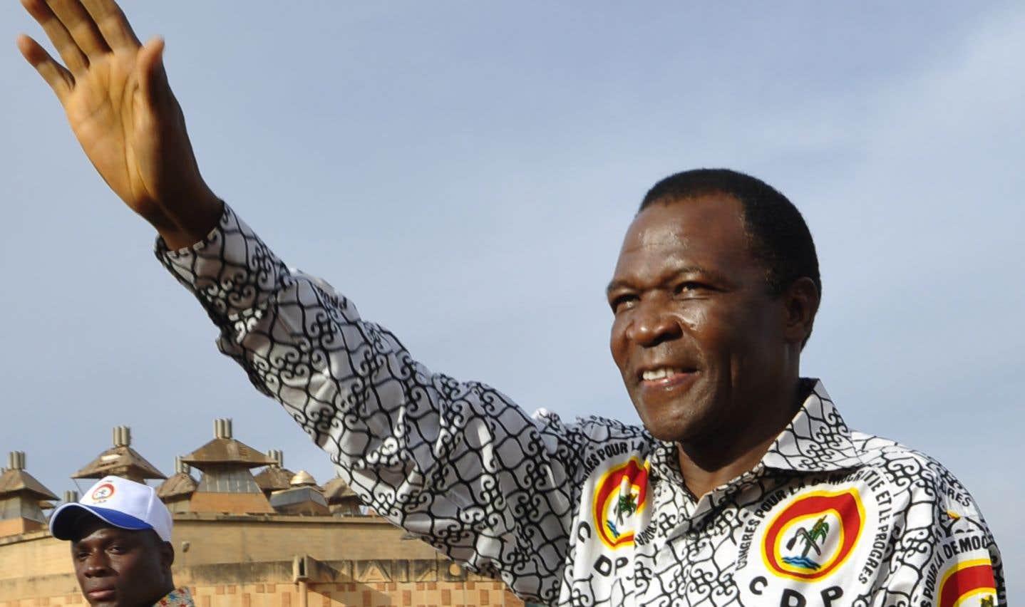 François Compaoré, frère de l'ancien président déchu burkinabé Blaise Compaoré, en 2012.