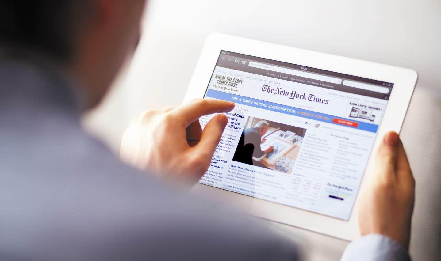 Le «New York Times» fait encore le plein d'abonnés numériques