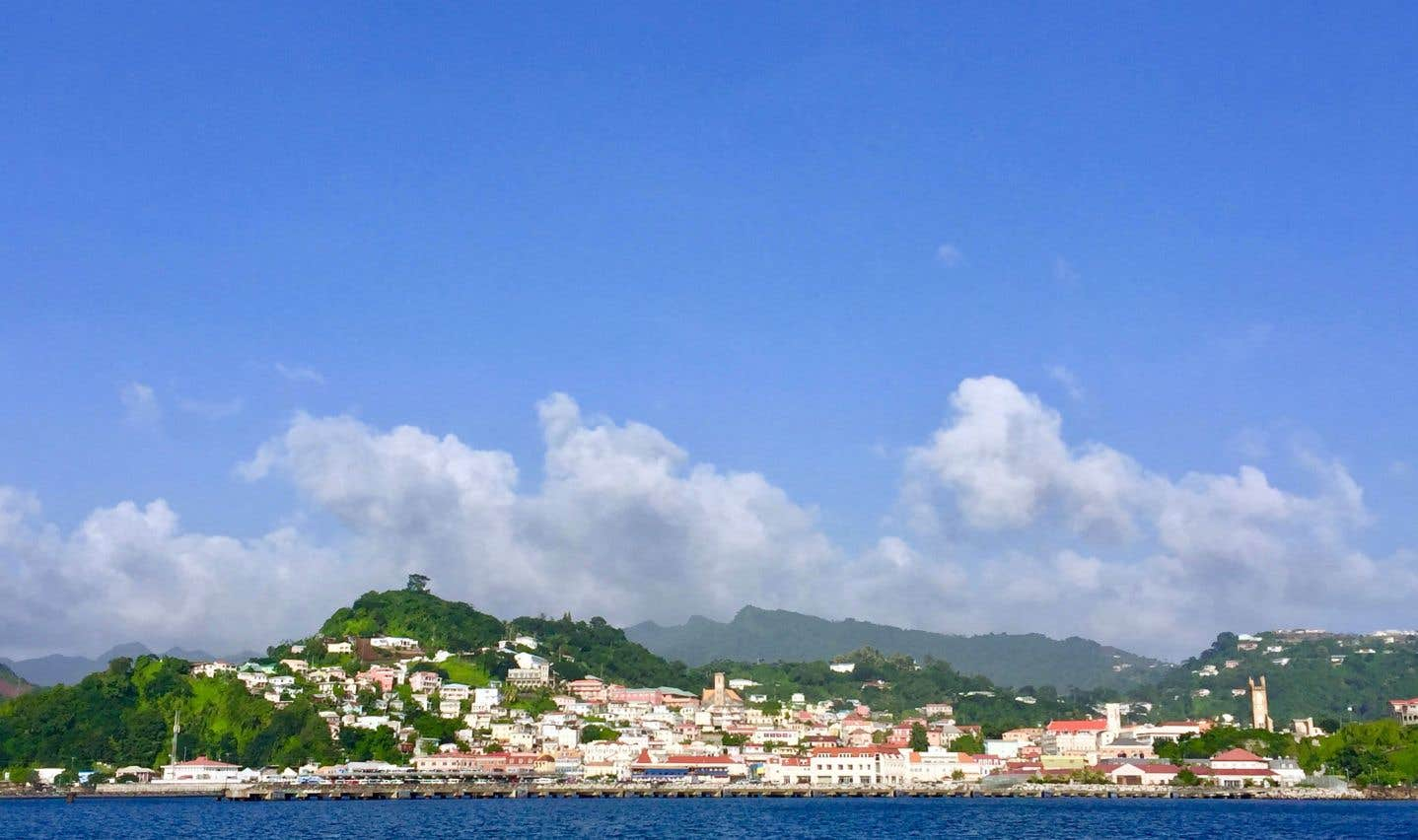 Grenade: l'île verte et son or bleu
