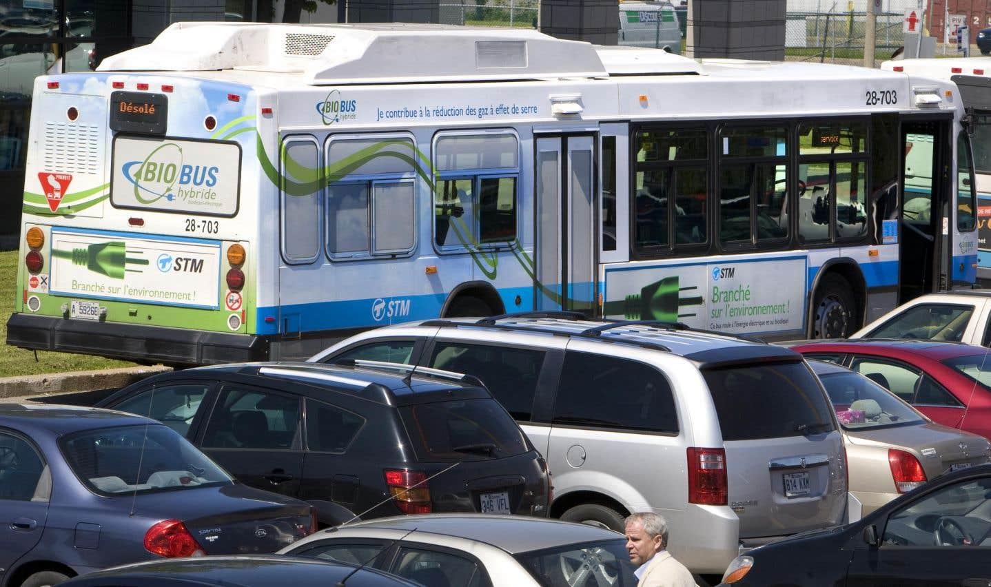 La STM peut-elle accueillir 300 autobus de plus?