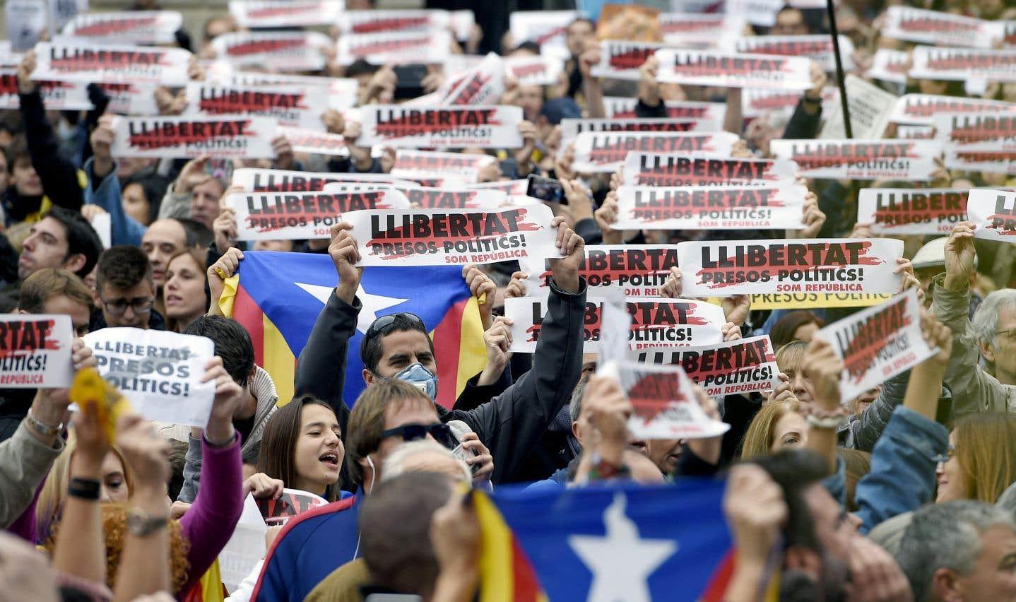 La Catalogne au ralenti sous la pression indépendantiste