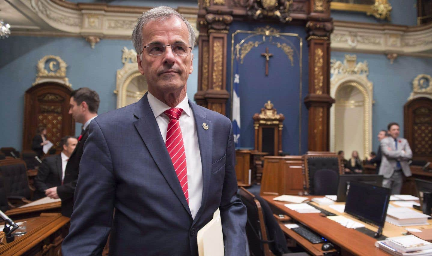 Le député libéral Guy Ouellette, qui siège maintenant comme indépendant, est au cœur d'une lutte de pouvoirs entre l'UPAC et l'Assemblée nationale.