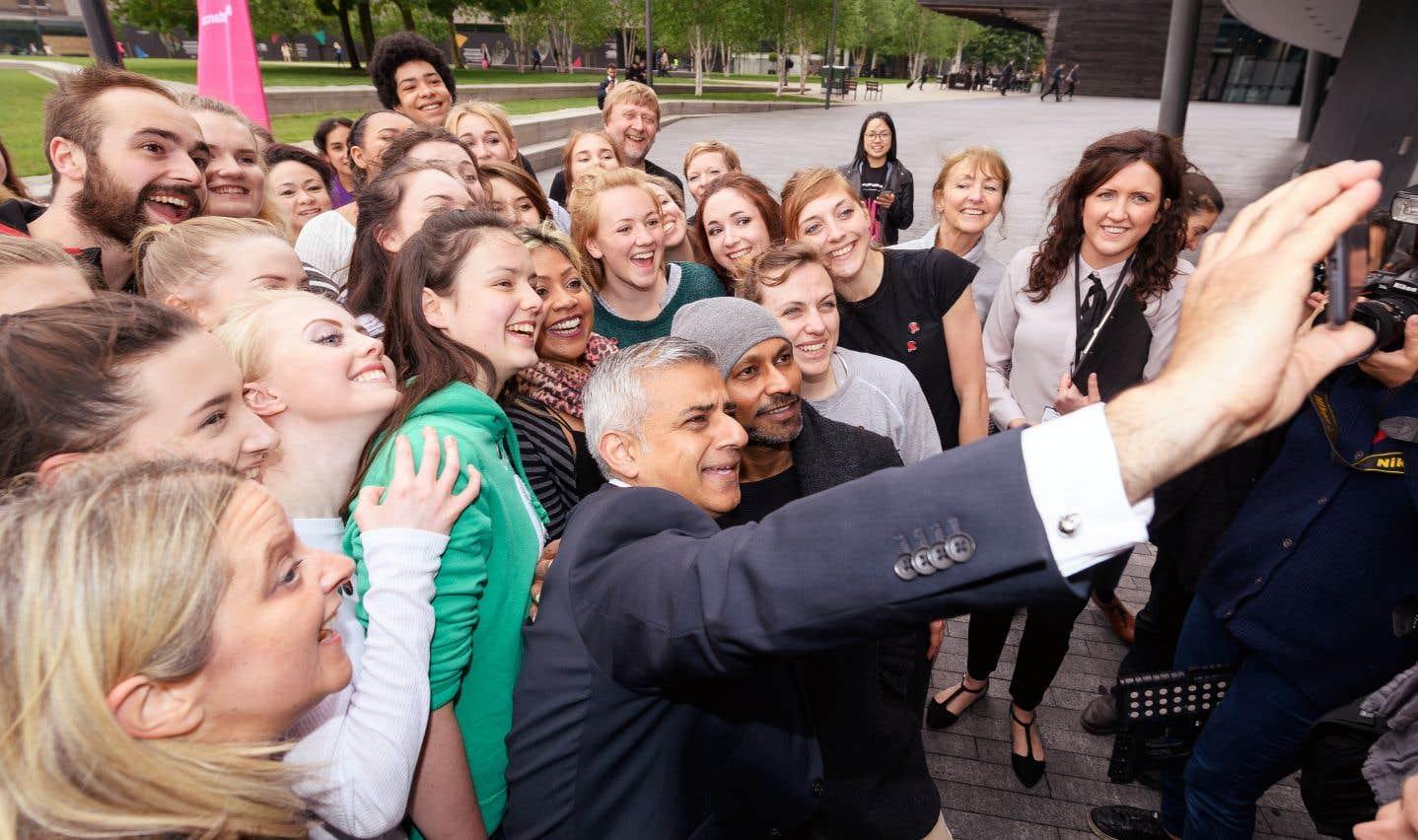 Le maire de Londres, Sadiq Khan, est d'origine pakistanaise, ce qui a certainement contribué à séduire les jeunes professionnels.