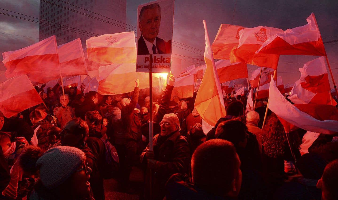 Importante manifestation nationaliste en Pologne