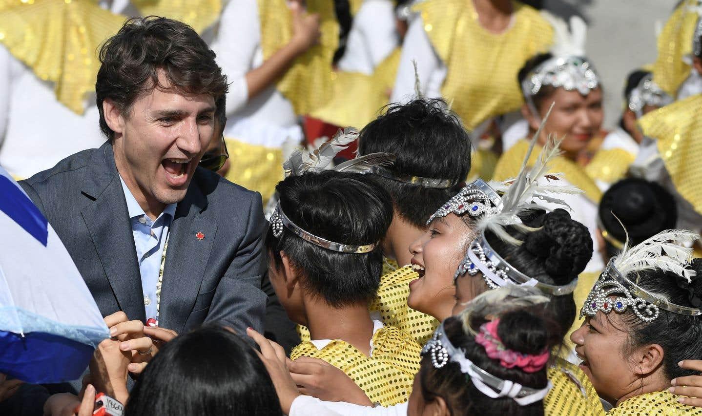 Droits de la personne en Asie: des ONG ont Justin Trudeau à l'oeil