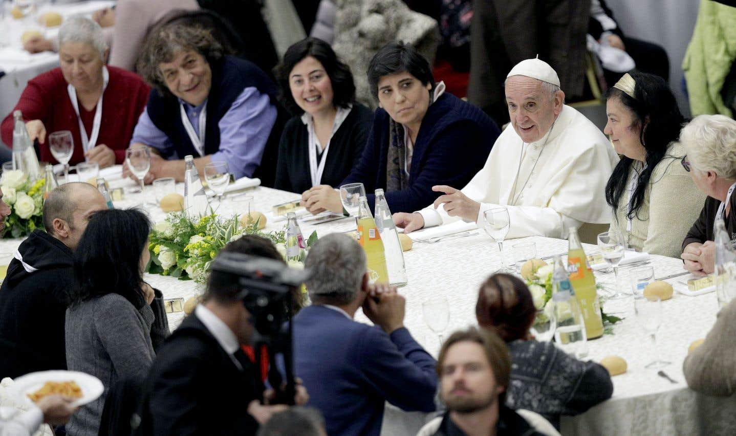 Le Vatican s'improvise resto populaire