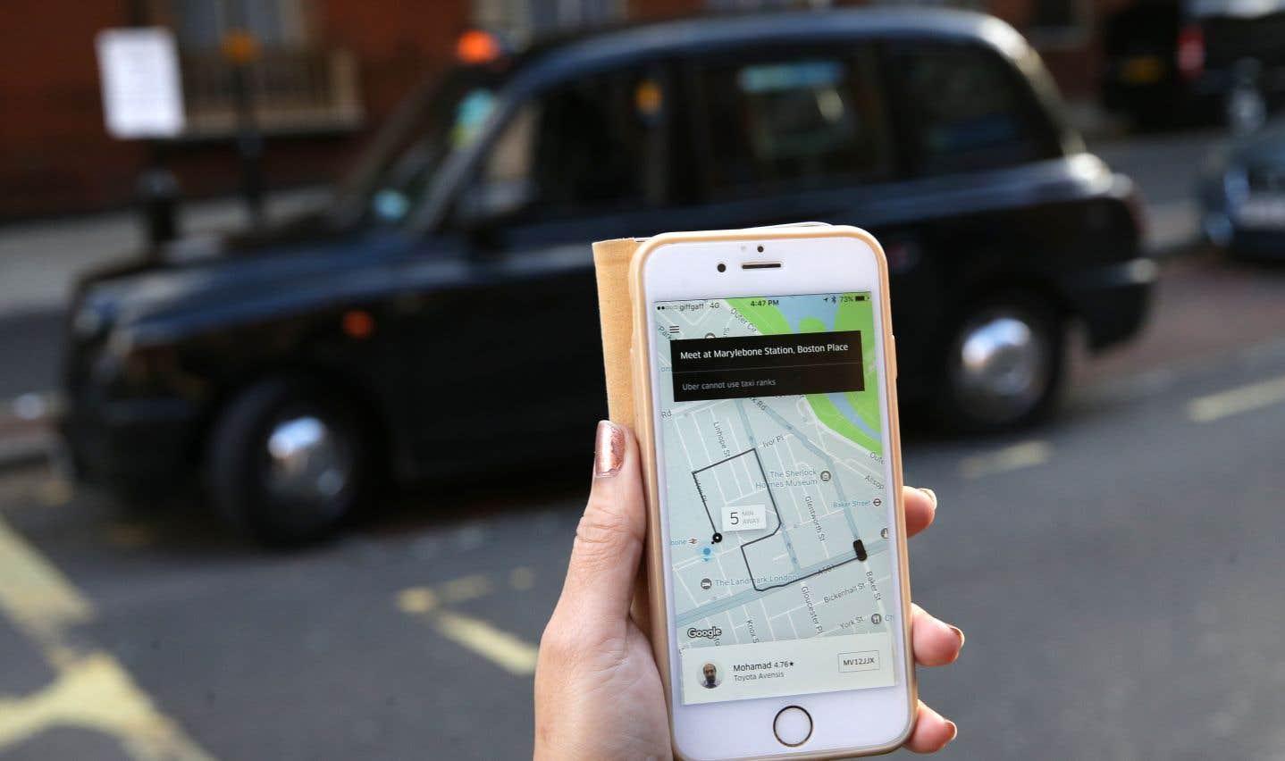 Outre le problème de sauvegarde des données, Uber a cherché à cacher le piratage.