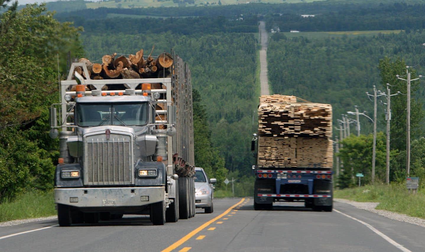 Le secteur du transportlourdreprésente aujourd'hui 11,2% de tous les gaz à effet de serre du Québec.