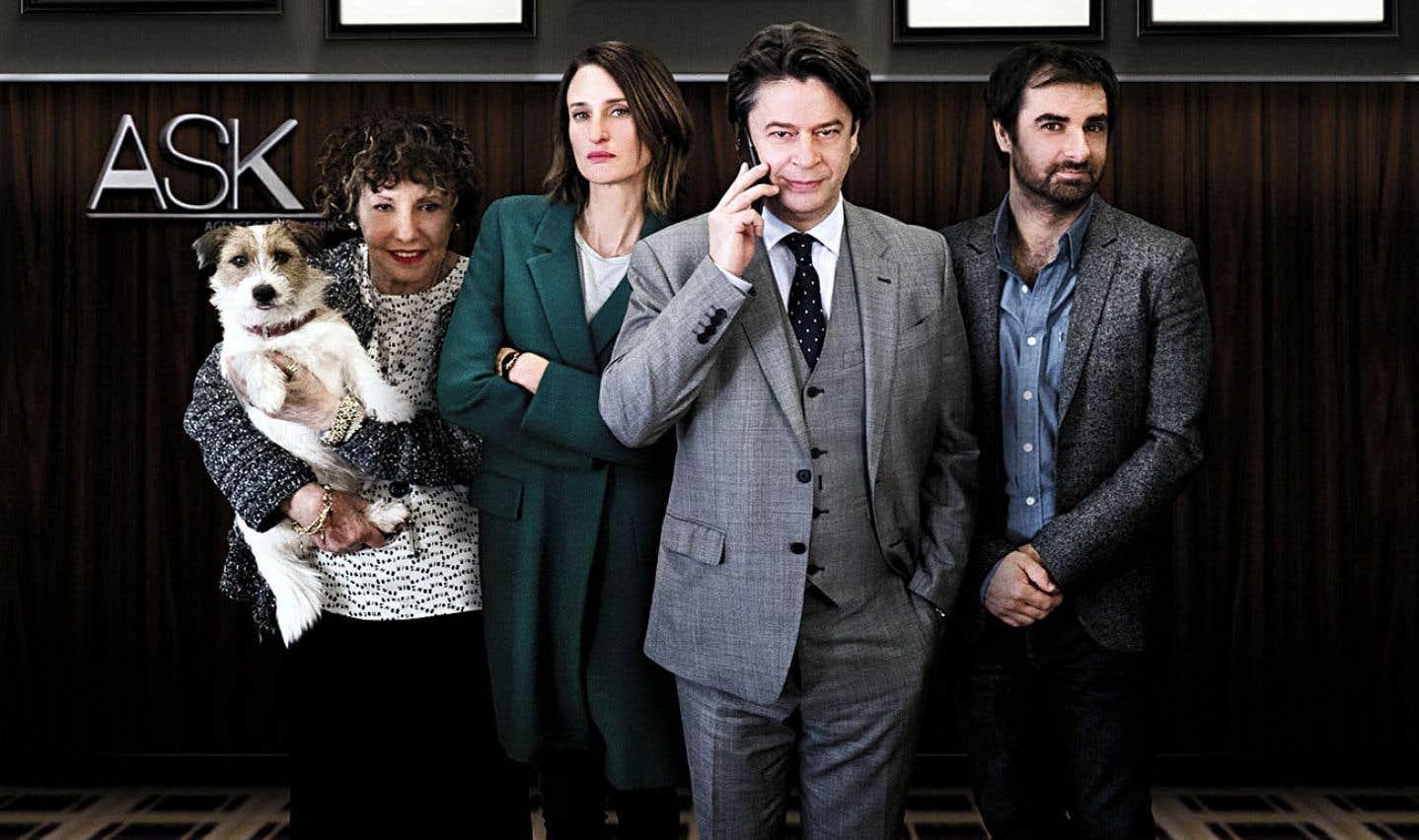 La petite bande de l'agence d'artistes ASK aura bien des gros ego et des grandes stars à gérer au cours de la deuxième saison de la jouissive série française «Appelez mon agent».