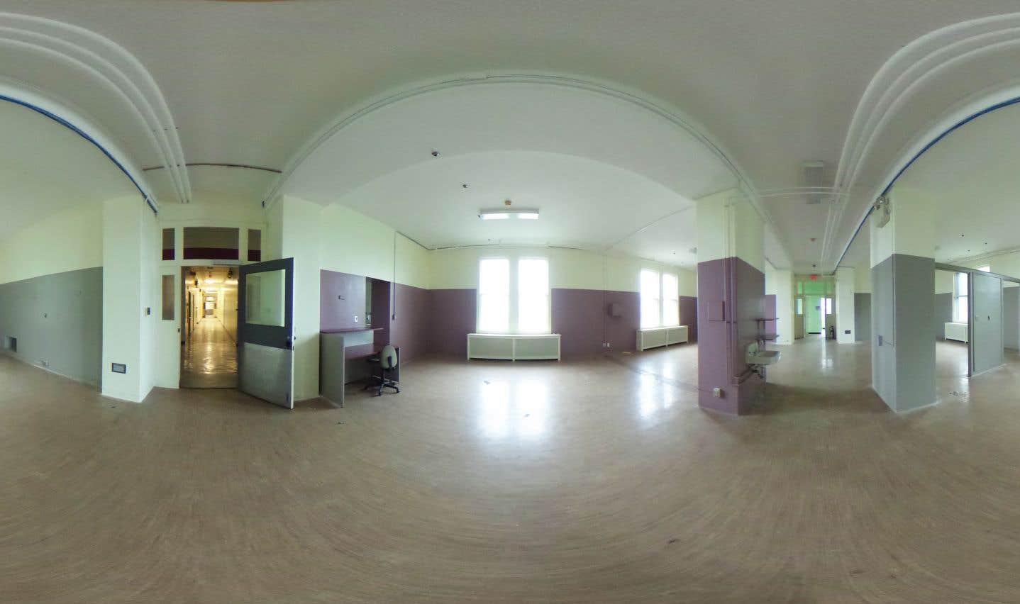 Luc Courchesne,Salle de réveil, Pavillon des femmes, Hôpital Royal Victoria, 2017