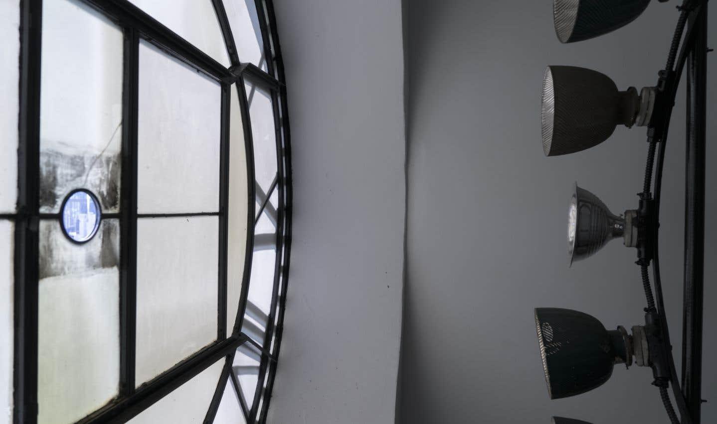 Yann Pocreau, L'horloge, Hôpital Royal Victoria, 2017