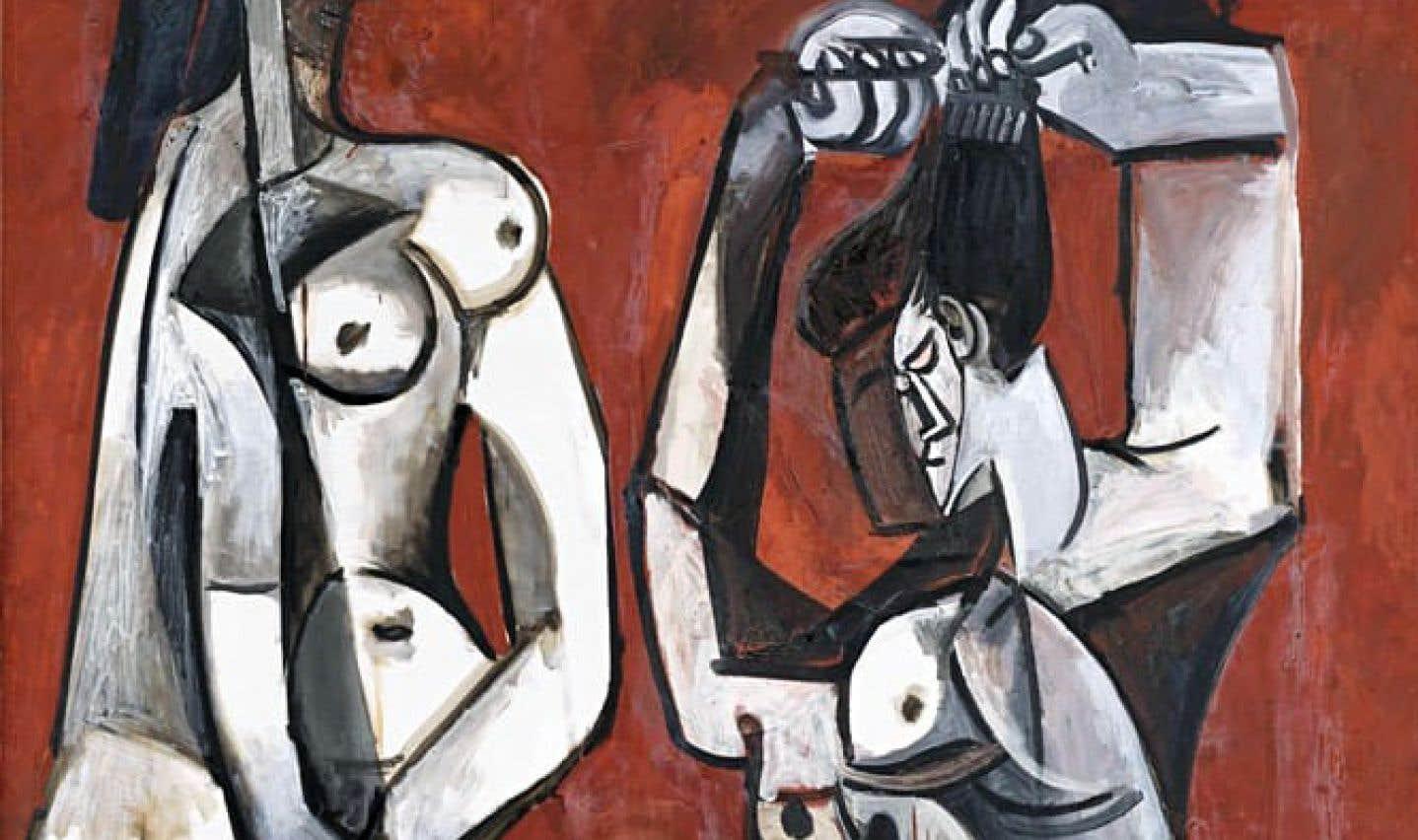 L'œuvre «Femmes à la toilette», de Pablo Picasso, fera partie de l'exposition «Face à face: d'hier à aujourd'hui, les arts premiers et Picasso», qui tournera autour du maître espagnol.