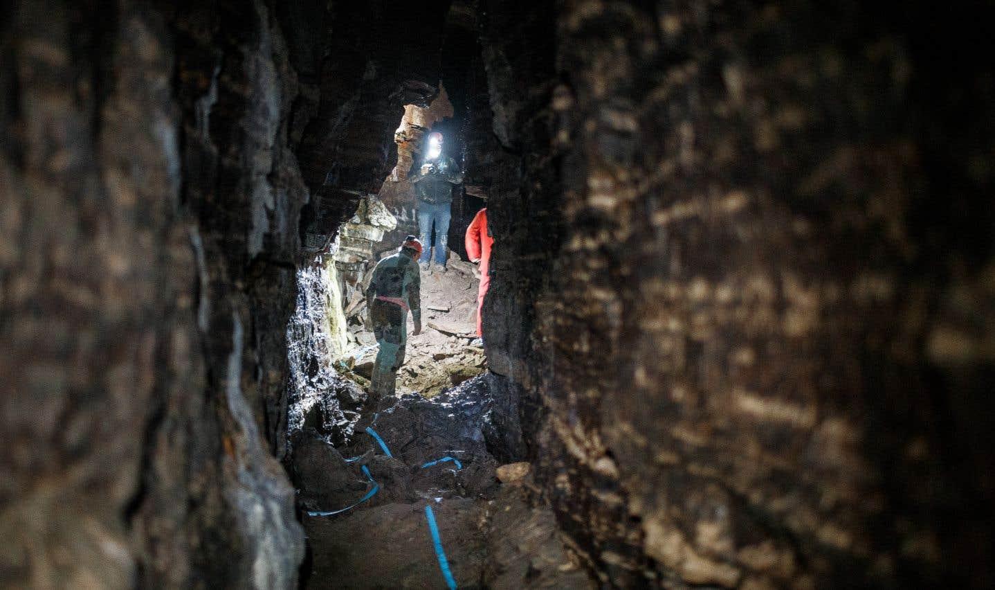 Une immense caverne découverte sous Saint-Léonard.
