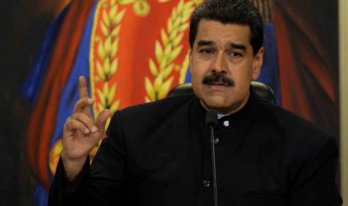 Le président du Venezuela, Nicolas Maduro
