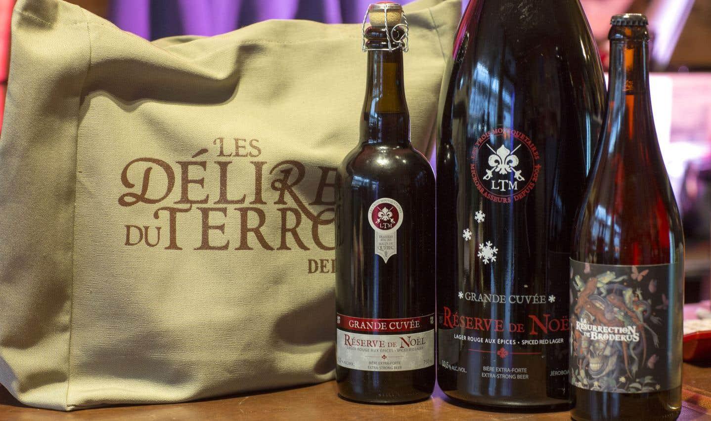 Des bières québécoises pour souligner les Fêtes
