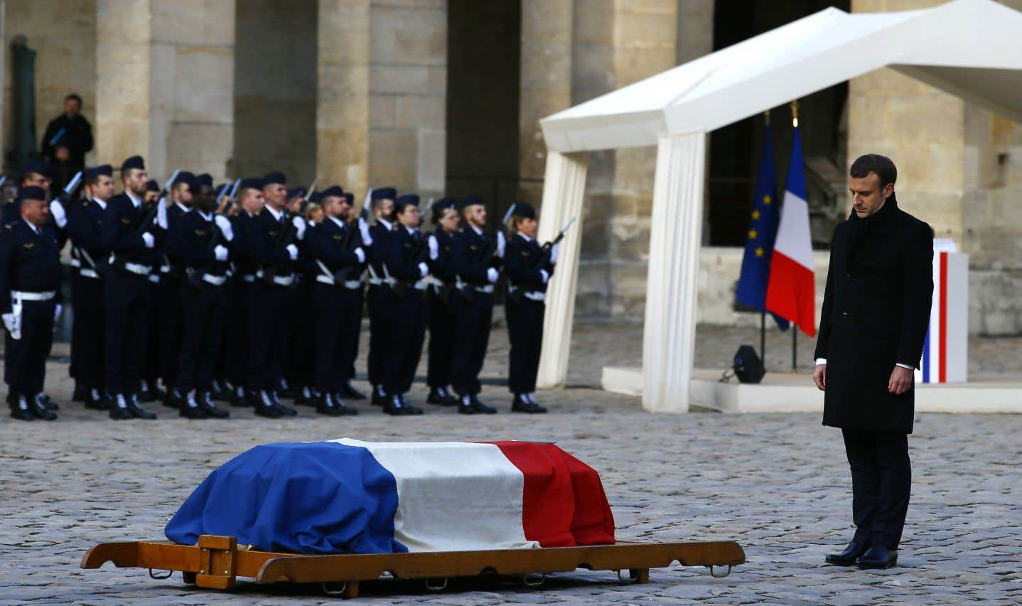 La France dit adieu à deux géants, Jean d'Ormesson et Johnny Hallyday
