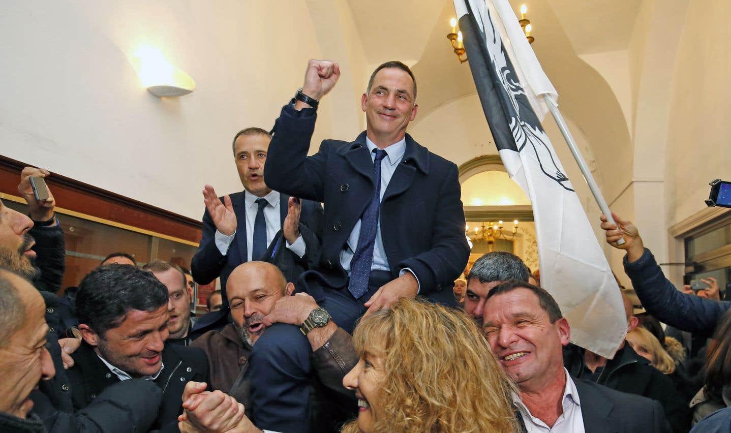 Les nationalistes corses remportent une éclatante victoire