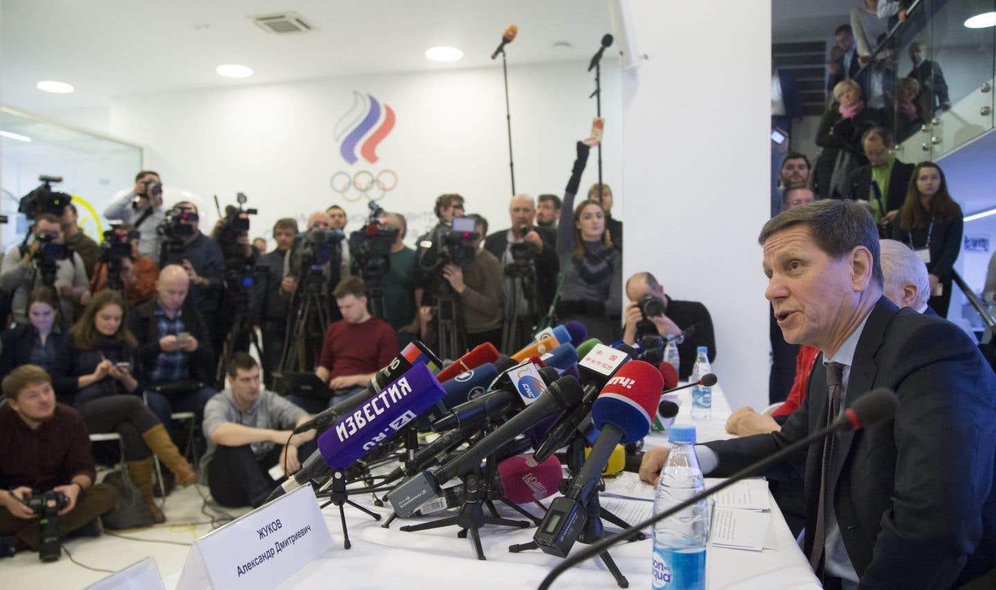 Pyeongchang: le comité olympique russe donne son accord à ses athlètes