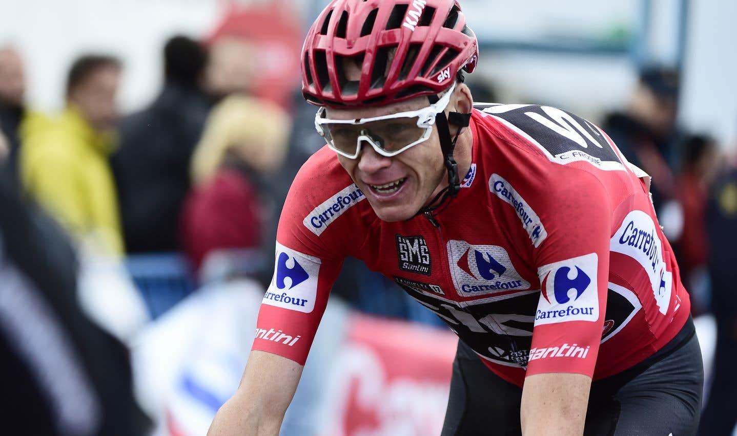 Chris Froome a enlevé les honneurs de la Vuelta cette année.