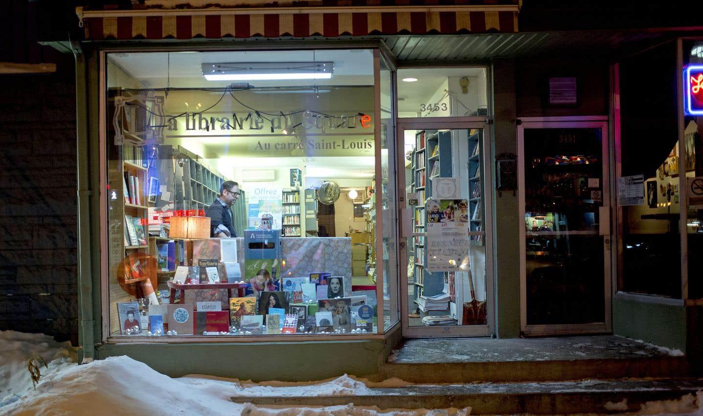 Petit regain des librairies au Québec cette année