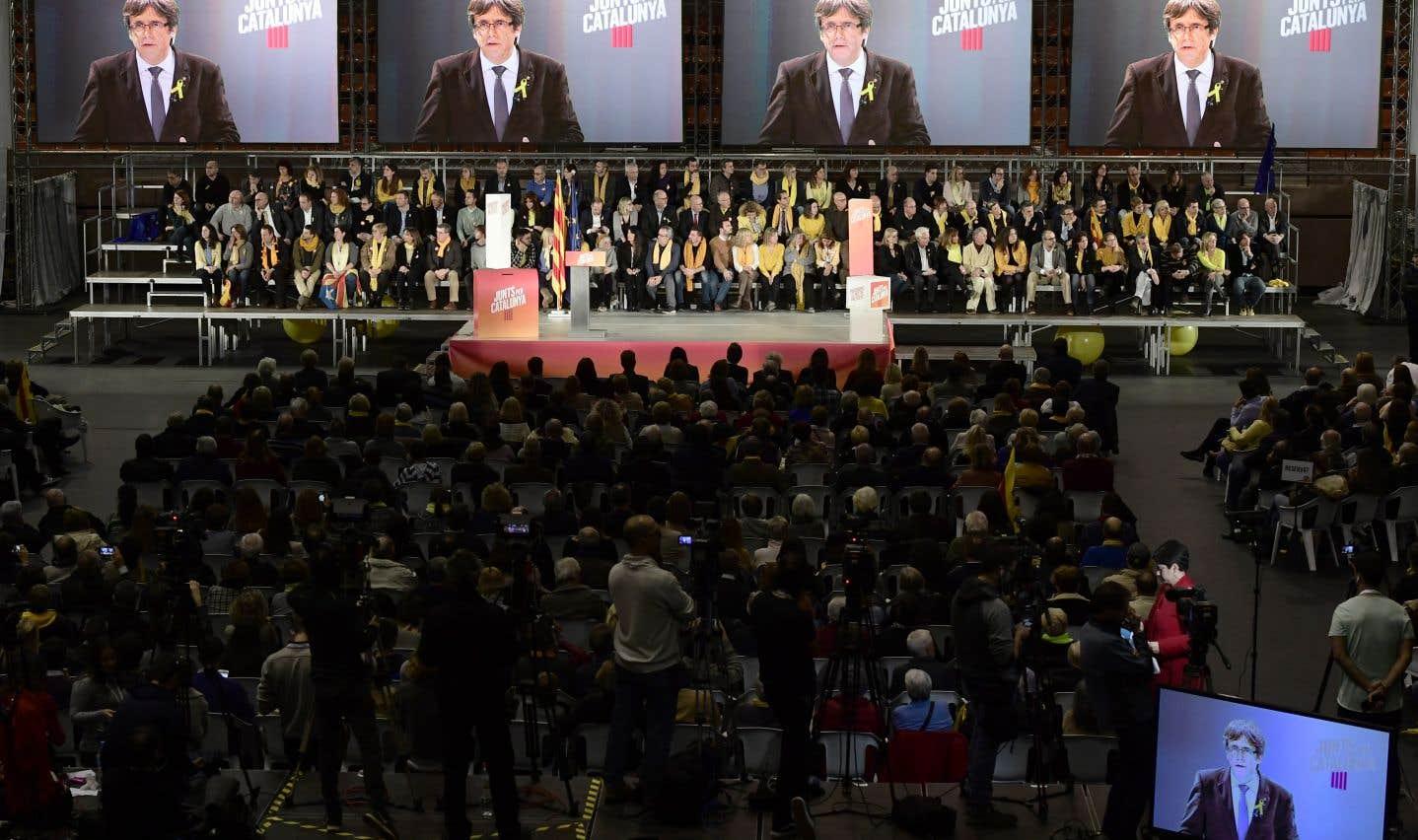 L'emprisonnement et l'exil des dirigeants indépendantistes catalans a galvanisé les partisans de la souveraineté.