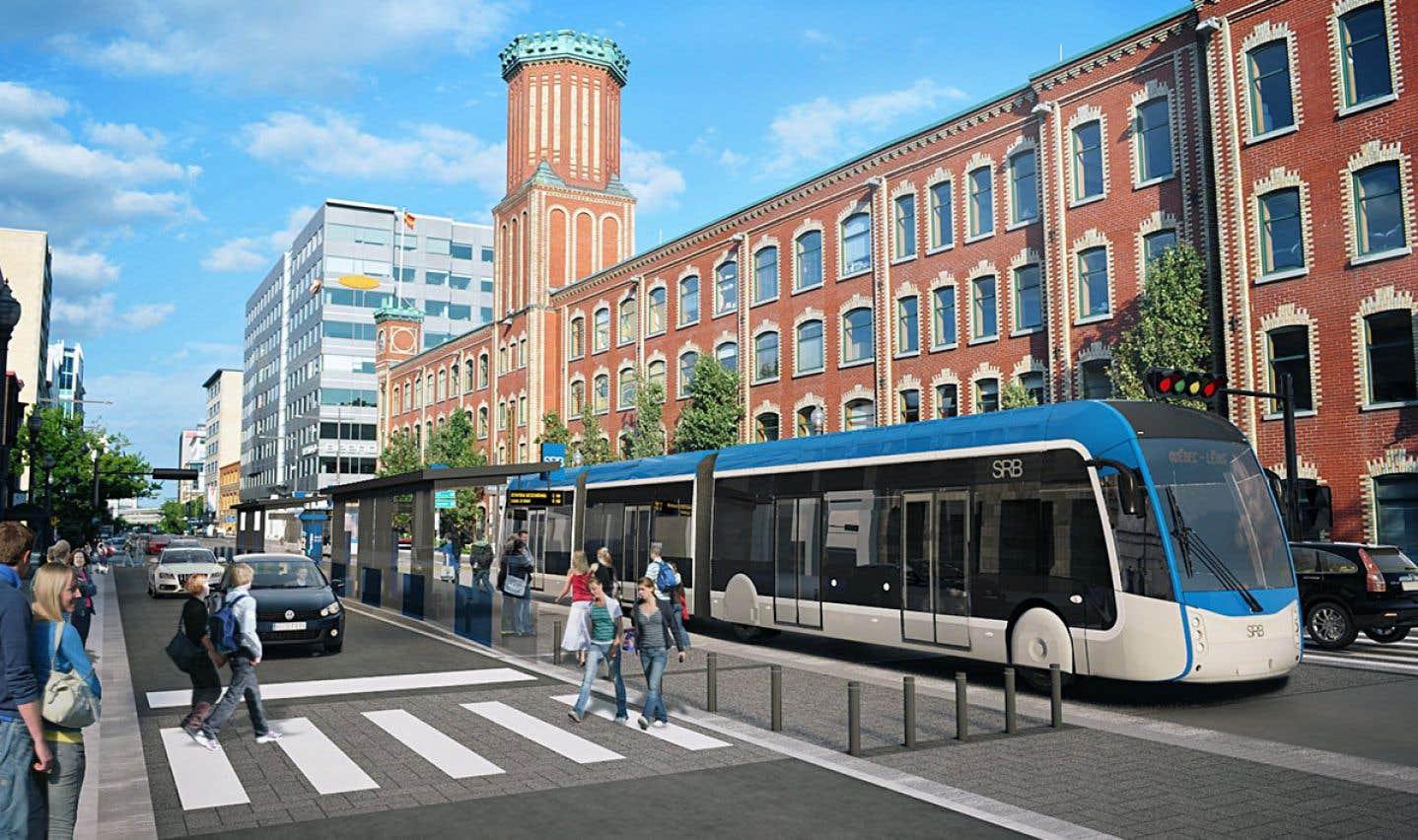Le tramway était au cœur d'un projet de mobilité durable présenté en 2011 par Régis Labeaume.