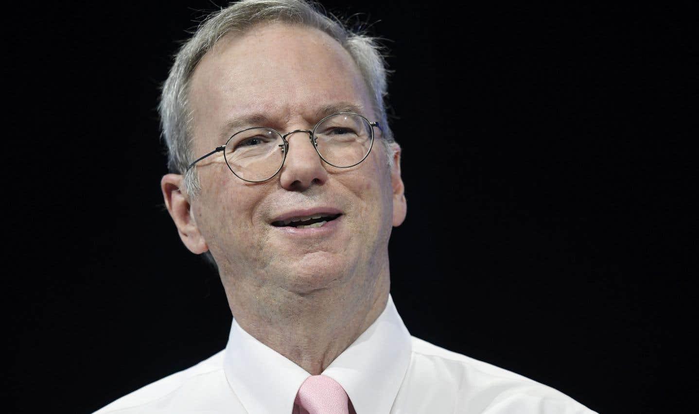 Le président d'Alphabet, maison mère de Google, démissionne