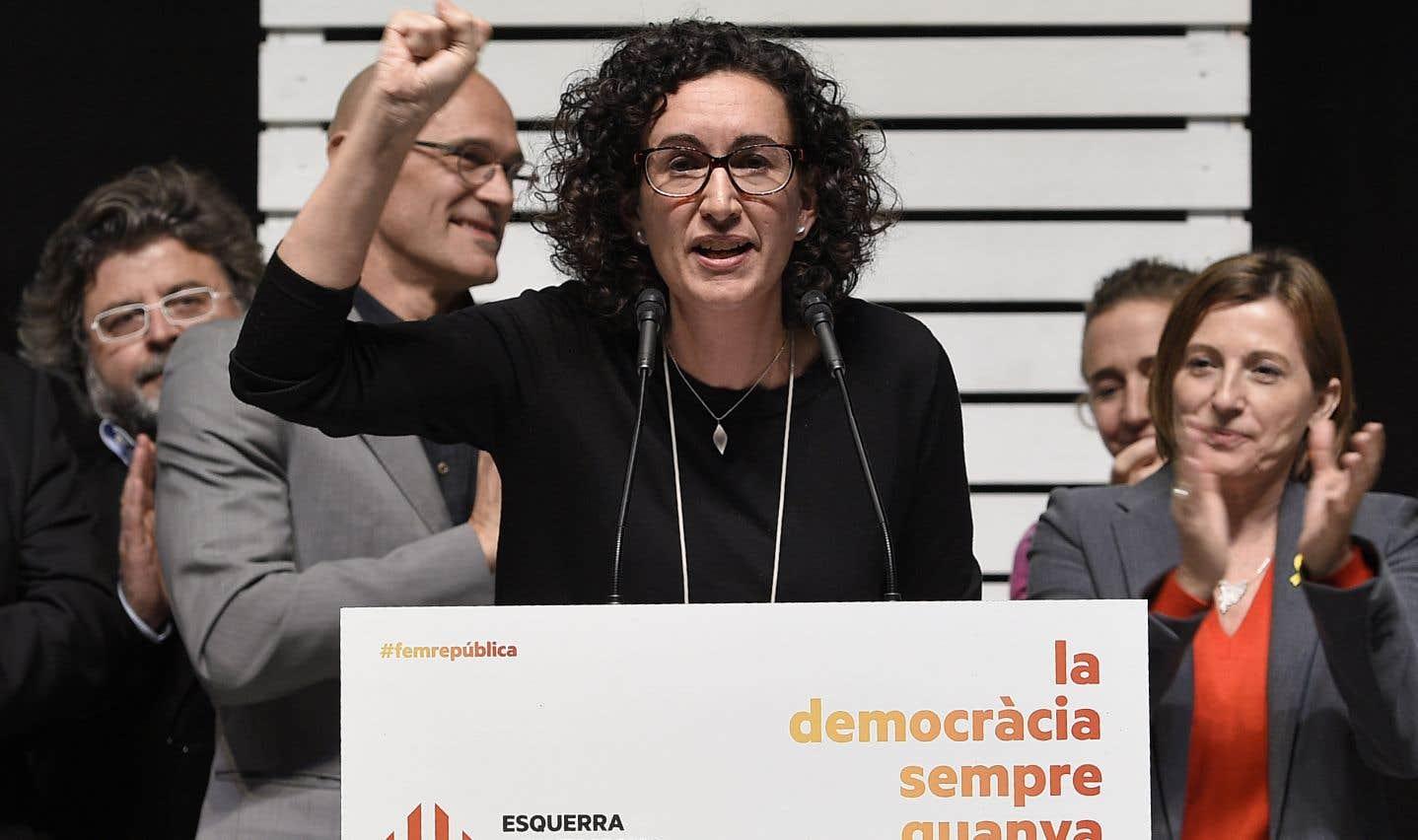 Marta Rovira, la numéro deux de la Gauche républicaine de Catalogne, élue jeudi, compte parmi les nouveaux accusés.