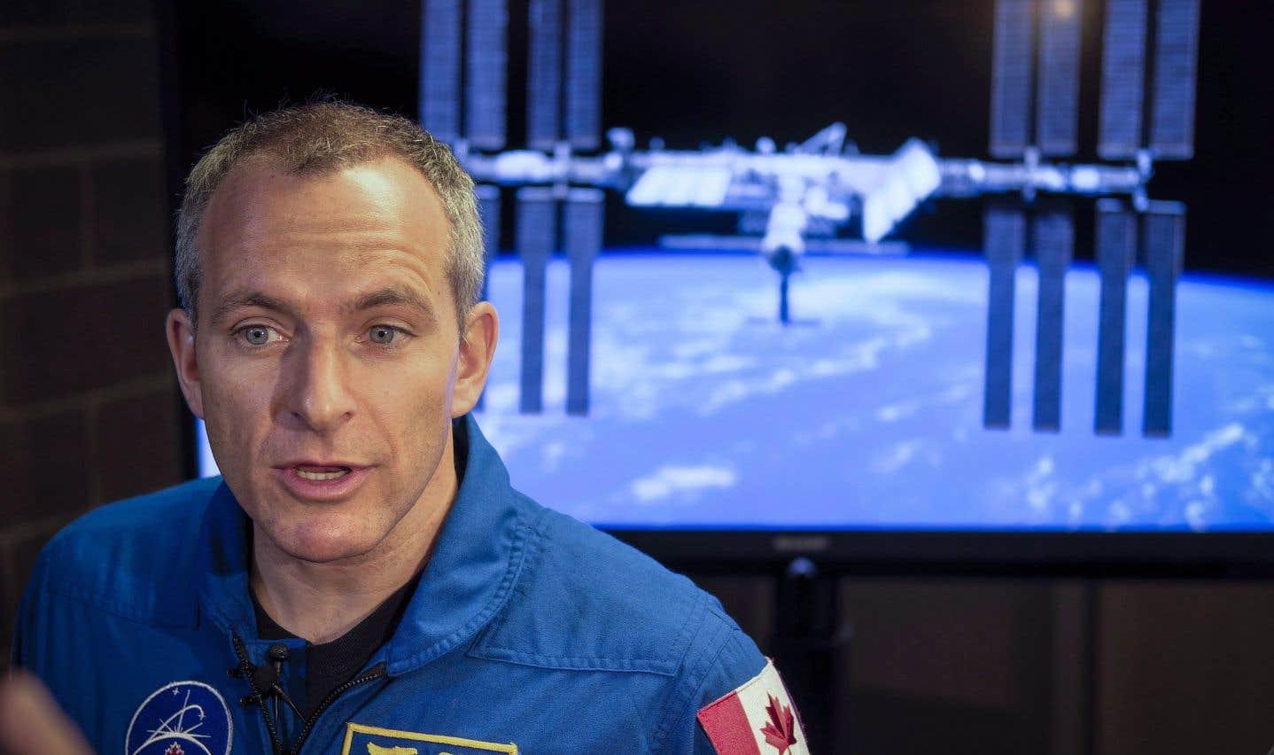 David Saint-Jacques sera copilote de la capsule russe Soyouz qui le transportera vers la Station spatiale internationale.