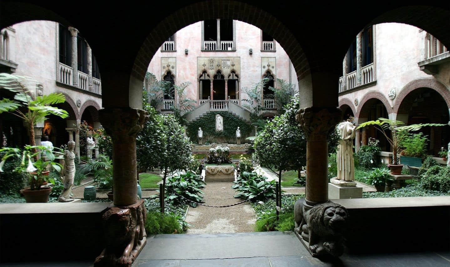 Des oeuvres ont été dérobéesau musée Isabella Stewart Gardner de Boston en 1990.