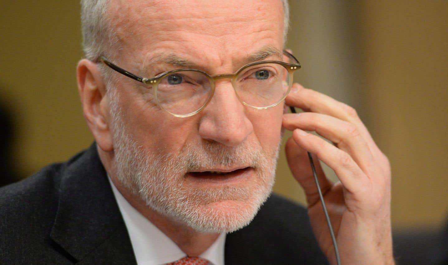Hubert Lacroix, le président-directeur général sortant de CBC/Radio-Canada